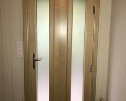 LES FERMETURES D'AUVERGNE - Clermont-Ferrand - Porte d'entrée mixte bois/aluminium